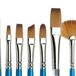 Paletas, pinceles y otros accesorios de pintura